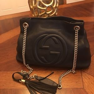 Authentic Gucci soho chain bag